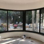 חלונות אלומיניום פנורמי תמונה