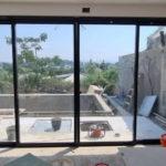 חלון אלומיניום גדול