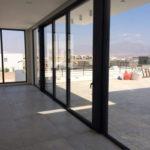 חלונות אלומיניום תמונה שטח גדול