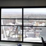 חלון בלגי שחור מעוצב